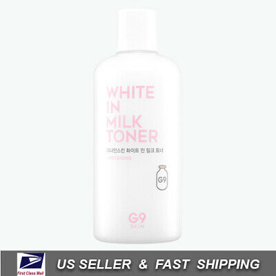 [ G9SKIN ] White In Milk Toner 300 ml - Whitening & Wrinkle Care