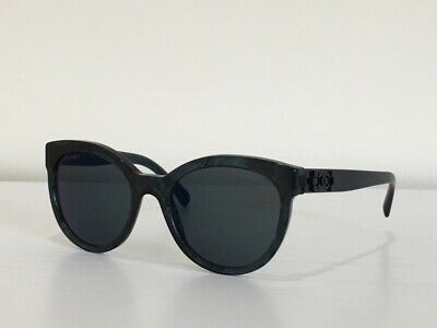 82e183f3ee 9 CHANEL 5315 c.1570 Z6 Cat Eye Blue Gray Lenses Gradient Sunglasses 54