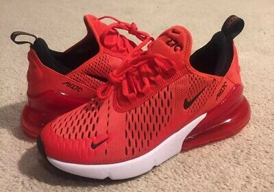NIKE AIR MAX 270 GS Habanero Red 943345 600 NEW Youth Size 6Y (Fits Women's 7.5)