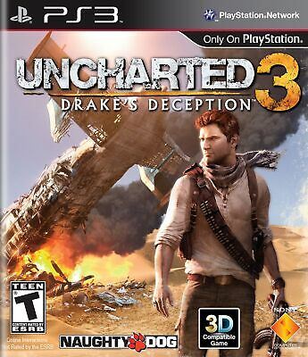 Juego Ps3 Uncharted 3: Drakes Deception Ps3 4481140
