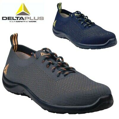 Sneaker New Delta Plus Mens Lightweight Steel Toe Cap Safety Work Ankle Boots Size 9