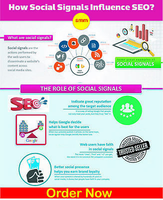 Rank your website with 3000+ POWERFUL Social Signals from only HIGH PR Backlink