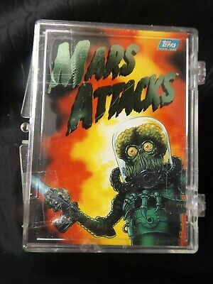 Mars Attacks Archives 1994 Topps Complete 100 Card Set In Plastic Case