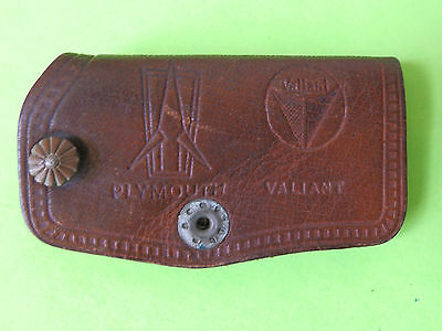 1960's 1970's Plymouth Valiant  Key Fob Leather NORS? Nice Condition.