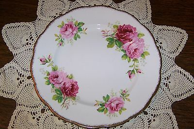 Royal Albert - American Beauty - 10 3/8-inch Dinner Plate (Excellent Condition)