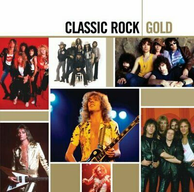 Various Artists - Classic Rock Gold (Remastered) - Cd - Nuevo