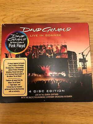David Gilmour Live In Gdansk 2 Cd And 2 Dvd Set