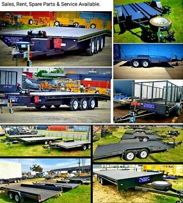 TRAILER HIRE / SALE - CAR CARRIER - CAGE (8/5 or 10/6 ) - MOTORBIKE.