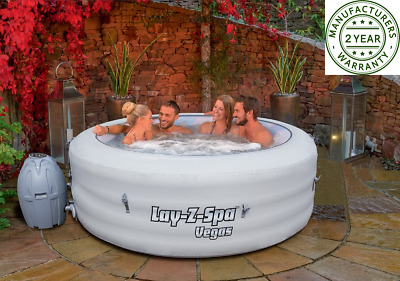 Lay-Z-Spa Vegas Vegas Airjet Comfortably Fits Up To 6 People Inflatable Hot Tub