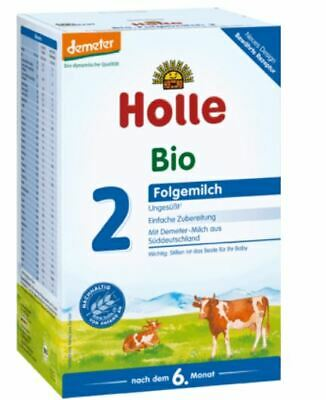 Holle Organic - Stage 2 - Cow Milk 600 g - Infant Baby Formula from Germany