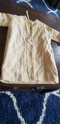 Liliputian Bazaar Best & Co Ivory  Embroidered Bathrobe Coat fits Patti Playpal