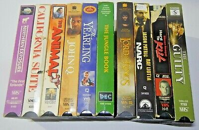 VHS TAPES FOR SALE!!!