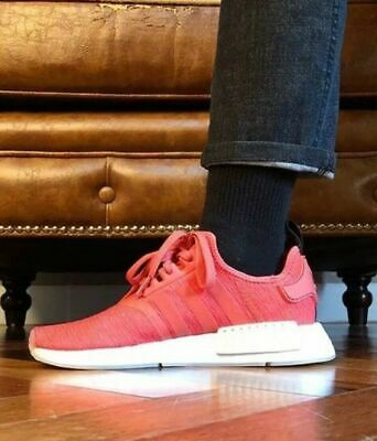537bae7dc adidas NMD R1 CQ2014 Runner Nomad Women s Trace Scarlet Red Pink White Tan