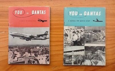 You in Qantas A Manual for Qantas Staff 1958 and 1964.