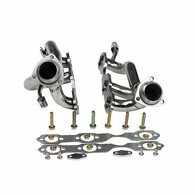 For 1996 2001 Chevy S10 Gmc Sonoma Blazer 4 3l 4wd Exhaust Headers Manifolds