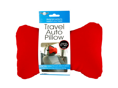 Soft,  Flexible, Foam & Micro-bead Filled Auto Travel Head/ Neck Support- 8 Pack