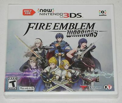 Fire Emblem Warriors (New Nintendo 3DS, 2017) BRAND NEW & SEALED!! FAST SHIPPING