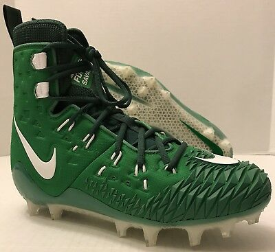 66a5f83d2e1 NIKE FORCE SAVAGE ELITE TD FOOTBALL CLEATS 857063-313 Green (MEN S 9.5)