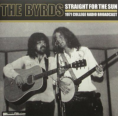 The Byrds Straight For The Sun 2014 Record Store Day Bianco Vinile LP Nuovo /