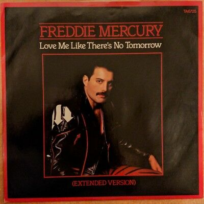 """Queen Freddie Mercury Love Me Like There's No Tomorrow extended 12"""" 1985 TA6725"""