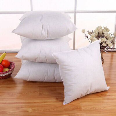 Hollow-fiber Bedding Cushion Inserts Pads Sofa Chair Pillow Core Inner Seat Nice
