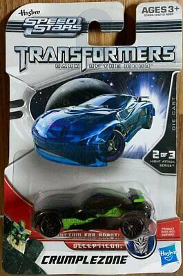 Hasbro Speed Stars Transformers Dark of the Moon Decepticon Crumplezone Diecast