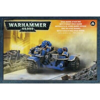 Warhammer 40K: Space Marine Attack Bike 48-20