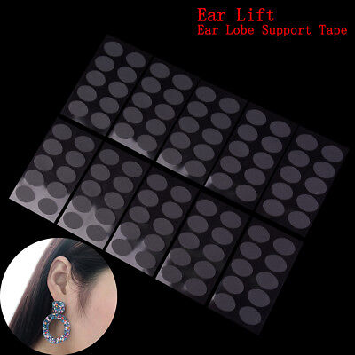 100Pcs Ear lobe tape invisible lift support.prevent stretched torn protective#