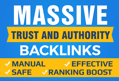 Boost Your Google SEO With Manual High Authority Backlinks And Trust Links-B Pac