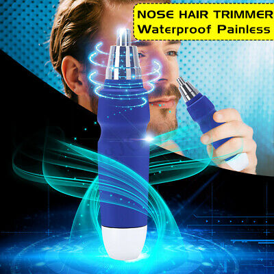Portable Electric Hair Shaver Eyebrow Ear Nose Trimmer Clipper Remover Cleaner