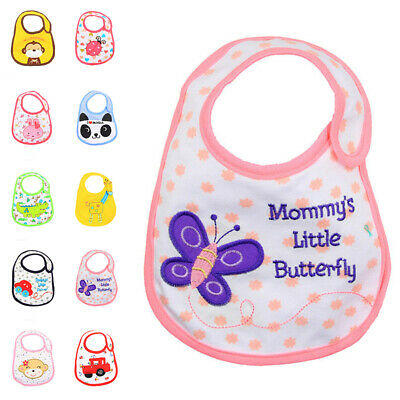 Cotton Apron Bibs Baby Bibs Boy Toddler Infant Waterproof Towel Bandana Scarf