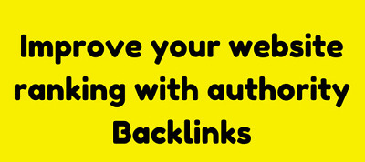Create 50 SEO Authority Backlinks With Da 60 To 90- Premium Package