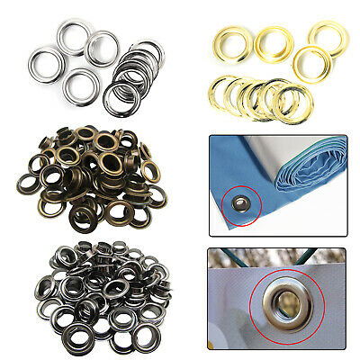 14mm - 20mm  Eyelets Grommet with Washers Brass DIY Pool Covers Yoga Mat Banners