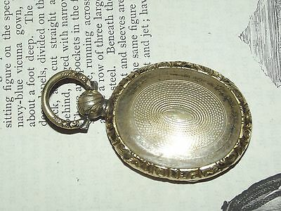 Old Antique GEORGIAN VICTORIAN LOCKET PENDANT Empty Compartments Mourning (J77)