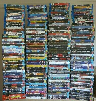 MARCH SALE! *224* Movies & TV shows on DVD/Blu-ray, all VGC - Dropdown menu