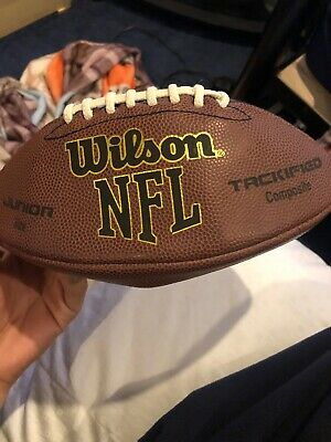 499a08b1acd WILSON NFL JUNIOR size All Pro Composite Football -  18.21
