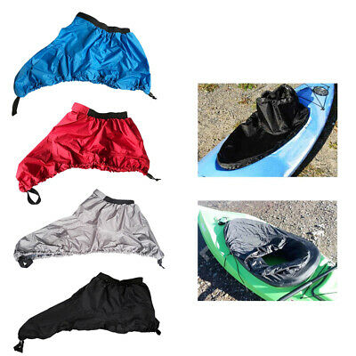 Waterproof Kayak Canoe Boat Splash Spraydeck Spray Skirt Deck Cockpit Cover S-XL
