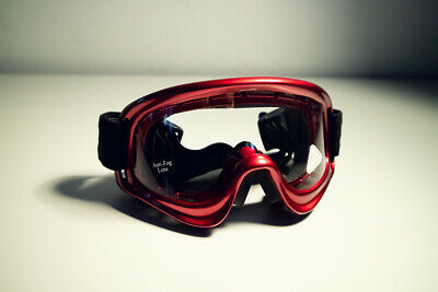 Held Goggle Motorradbrille Crossbrille Brille Moto Cross rot red EB106A