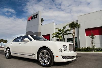 2011 Bentley Mulsanne -- 2011 MULSANNE - VERY HIGHLY OPTIONED - 334K MSRP NEW - PREMIERE SPEC PACKAGE