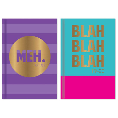 2019 2020 A5 Week to View Academic Diary, Mid year Planner