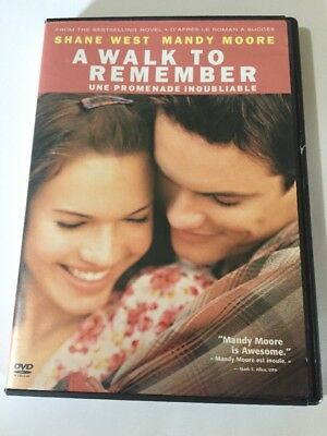 A Walk to Remember (DVD, 2009, Canadian French) Shane West Mandy Moore