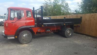 classic bedford tk tipping lorry truck tipper lorry vintage