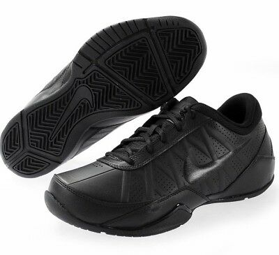 NIKE AIR RING LEADER LOW MEN S Sz 11.5 BLACK OUT BASKETBALL SHOES 488102  001 NEW 3b53d5178