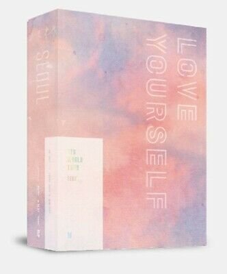 BTS World Tour Love Yourself Seoul DVD Photobook Poster Photocard Pre Order gift