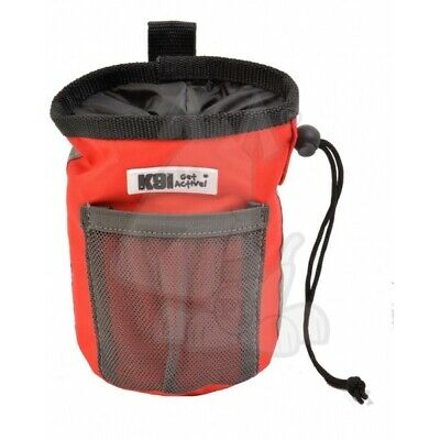 Treat Holder Bag Treat Bag Walk Agility Flyball Training Durable Red K9 Pursuits