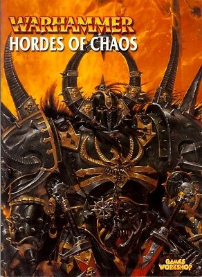 WARHAMMER ARMIES Hordes Of Chaos GAMES WORKSHOP 2002 PB 112 pages FANTASY RPG