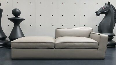 *New* B&B Italia Maxalto Solatium Leather Sofa Chaise Antonio Citterio Rrp£4950