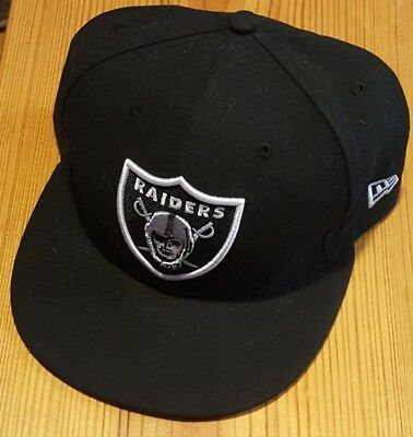 Oakland Raiders On Field 59Fifty Black Fitted Cap Hat All Sizes NFL New Era e01f51d4f
