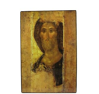 Orthodox Russian icon Jesus Christ, Christ the Redeemer (Andrey Rublev)