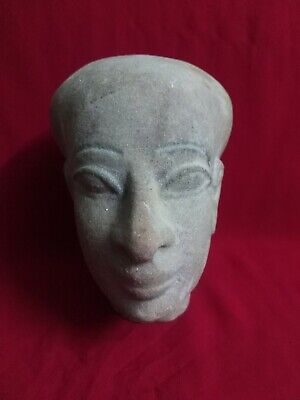 Ancient Egyptian Antiquities rare Head (1323 BC)